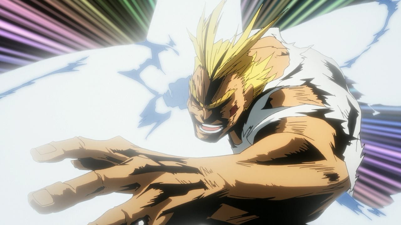All Might Smash
