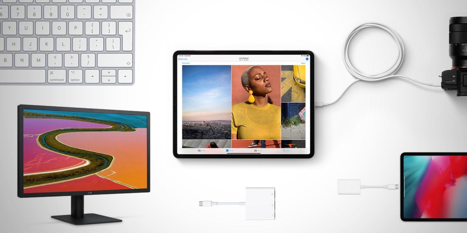 Ipad Pro 2019 vem com USB-C  e surpreende na integração com outros dispositivos